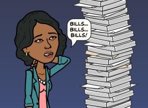 Bills, bills, bills.