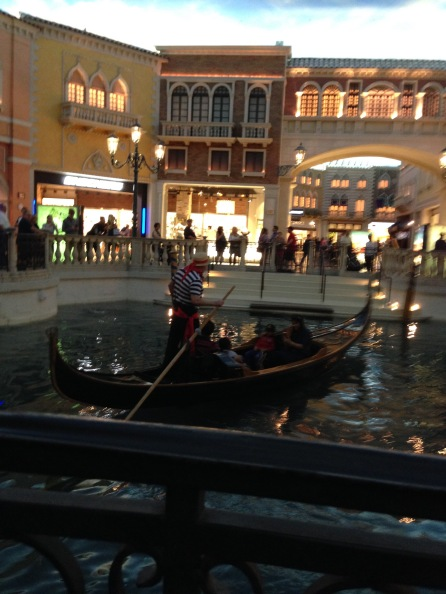 Taken while dining at Canonita in the Venetian Las Vegas