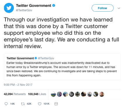 twitter-trump-deactivated